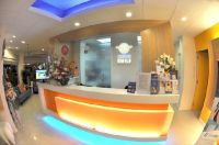 OrthoSmile Dental Clinic reception desk