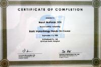 Dental 4 U Dr. Warut Muttaruk certificate #4