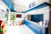 The Dental Design Center - Pattaya - Inside Clinic with Reception Counter