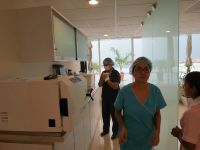 Sunset Dental Cancun, Staff after surgery