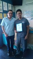 Simply Dental  Patients Choice Award Certificate