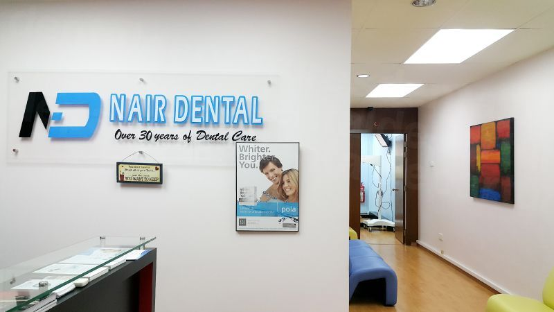 Nair Dental @ Sentral Brickfields Branch - Dental Clinics in Malaysia