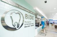 Bangkok International Dental Center - Bangkok, Thailand - Information Counter and Waiting Area