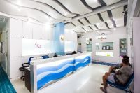Sea Smile Dental Clinic - Phuket - Inside clinic is clean and reception desk