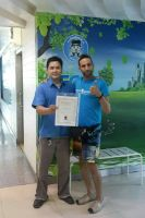 BFC Dental Srinakarin Branch-Mr.Sun Shine with his Best Driver certification guarantee from patient