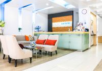Bangkok Smile Dental Clinic & Spa: Bangkok, Thailand -  information counter and waiting area