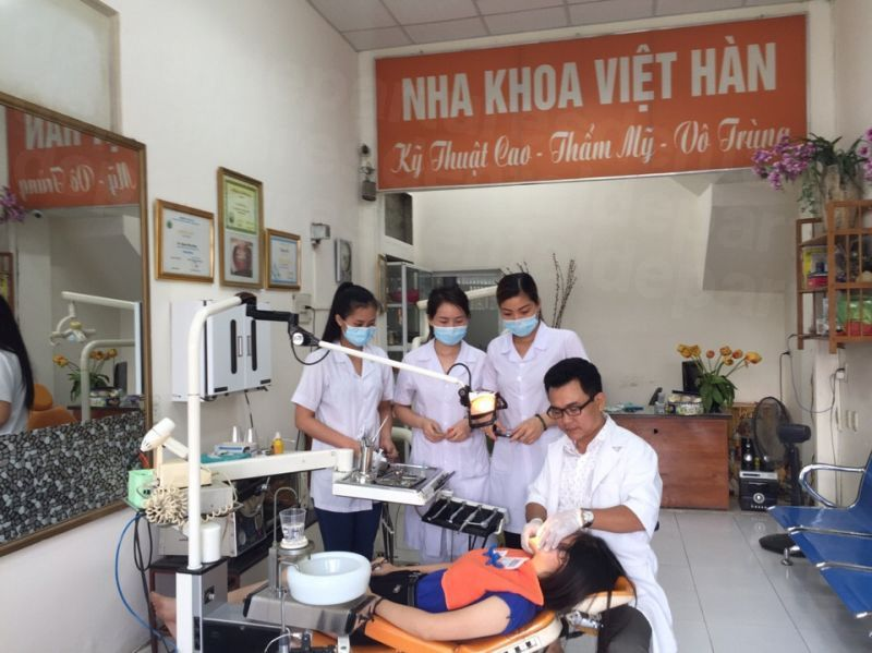 Viet Han Dental Clinic - Giai Phong Branch - Dental Clinics in Vietnam