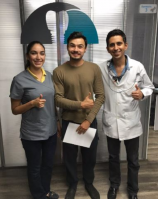 Advanced Smiles Dentistry, Very happy finished patient