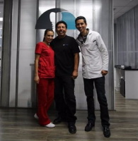 Advanced Smiles Dentistry, Patient with Staff