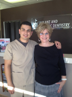 Castle Dental - Dr. Robert with happy patients