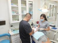 Castle Dental - Patient in consultation
