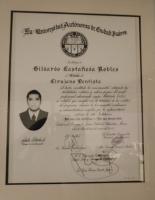 Castle Dental - Professional DDS Certificate - Dr. Gildardo Castañeda R.