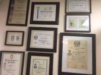 Harmony Dental Studio, Diplomas