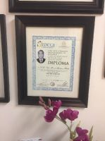 Harmony Dental Studio, Diplomas