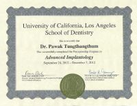 Kitcha Dental Clinic - Doctor's certification