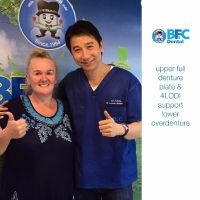 BFC Dental Bangna - Dr.Mongkol with Patient