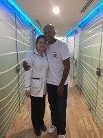 Ocean Dental Specialists, Quintana Roo,  patient with Dr. Galvanon