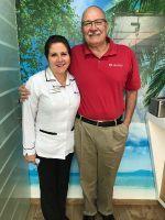 Ocean Dental Specialists, proud doctor happy patient.