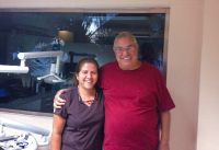 Ocean Dental - Happy patient with Dr. Gavaldon