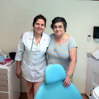 Ocean Dental - Satisfied patient with Dr. Gavaldon