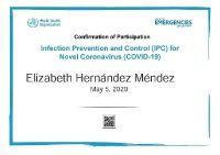 Bokanova Riviera Maya, COVID-19 Infection and Prevention Control Certification