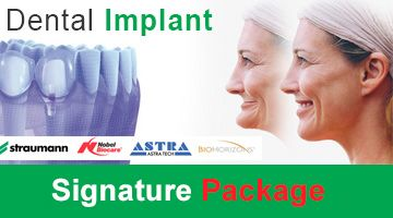 6 mini-locator implant with overdentures at Smile Signature - Phuket Branch