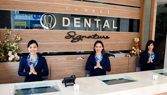 Teeth whitening Package at Phuket Dental Signature