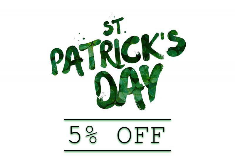 St. Patrick's Day Promotion
