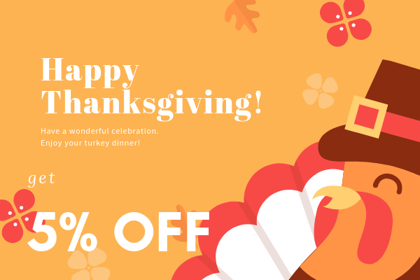 Thanksgiving special promotion