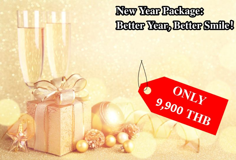 New Year Package: Better Year, Better Smile!