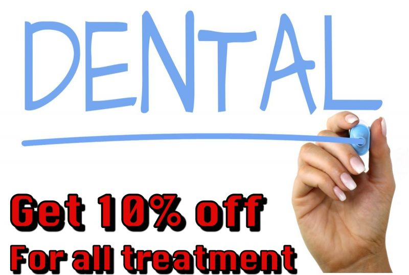 Get 10% discount for all treatment at Australian Dental Clinic
