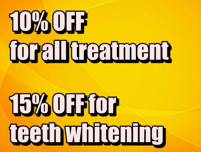 Get 10-15% off at Dr.Bao Dental Clinic