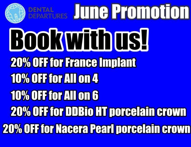 Get special prices at I-Dent Dental Implant Center