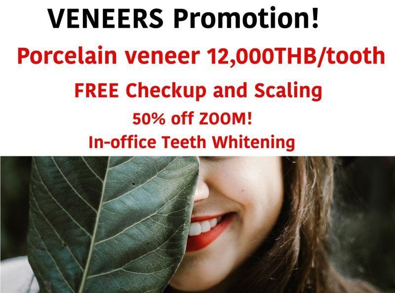 VENEERS Special promotion
