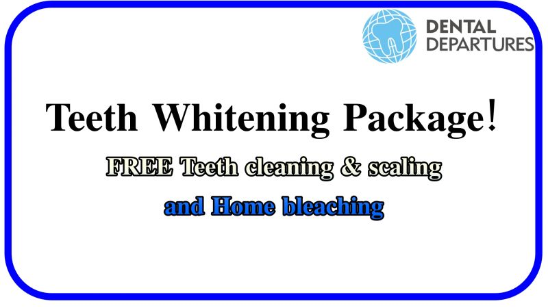 Special Package for Teeth Whitening!!