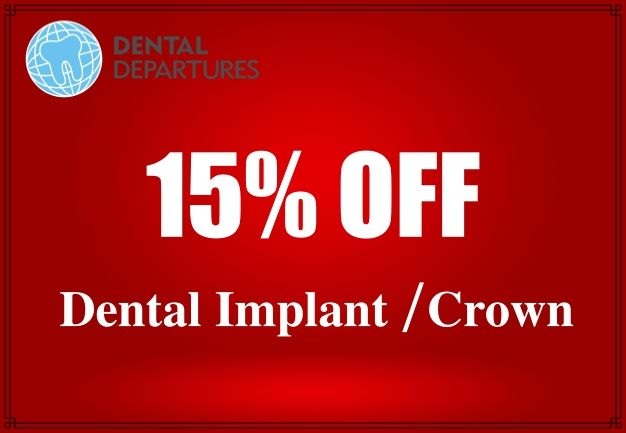 Discount 15% for Implant and Crown at I-Dent Dental Implant Center