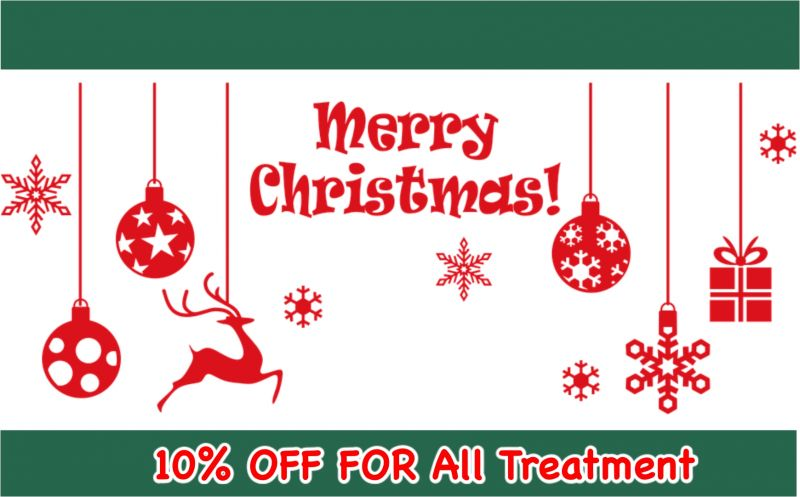 Merry Christmas & Happy New Year promotion