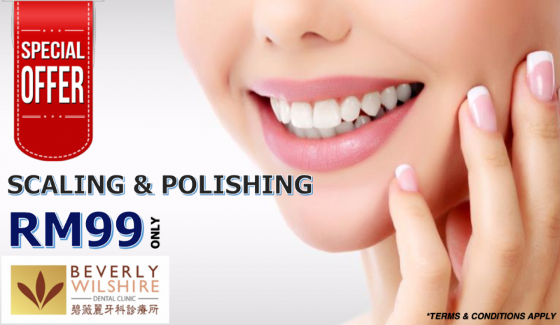 Scaling and Polishing @ RM99 ONLY (1st Visit)