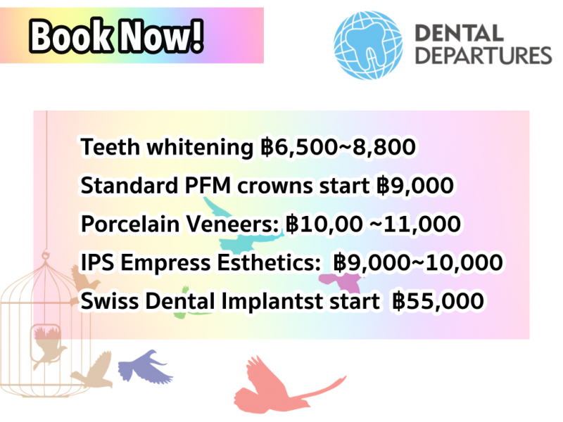 Book NOW! to get special prices
