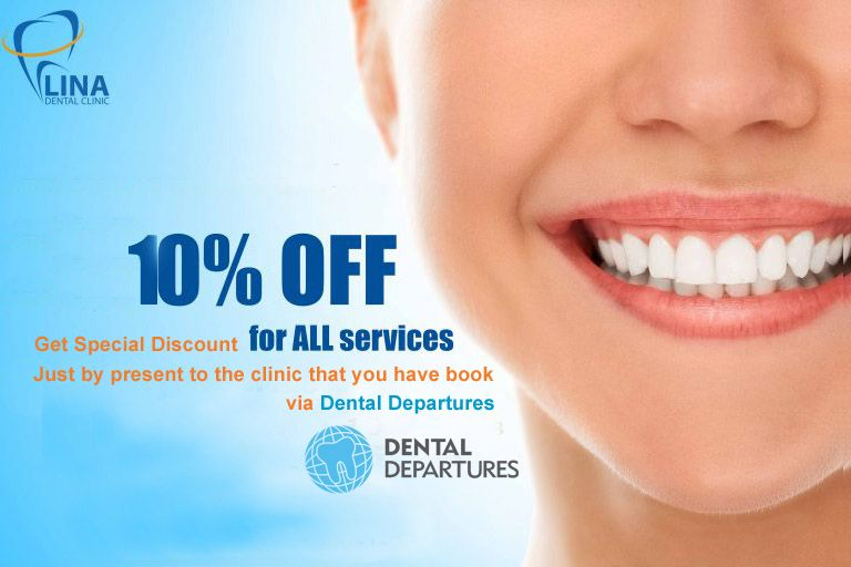 10% off when show booking email from Dental Departures