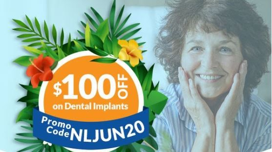 $100 off Dental Implants