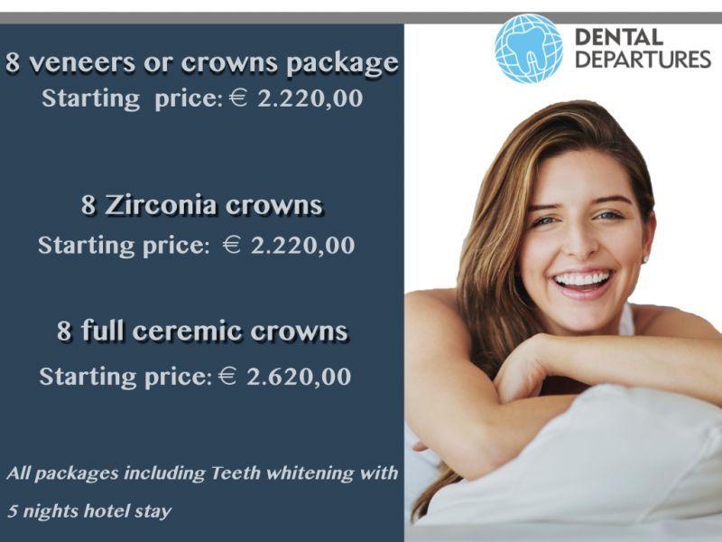 Get a special offer at Dental Departures!