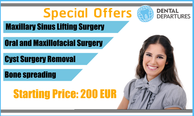 Get special offers at Alanya Dental Center