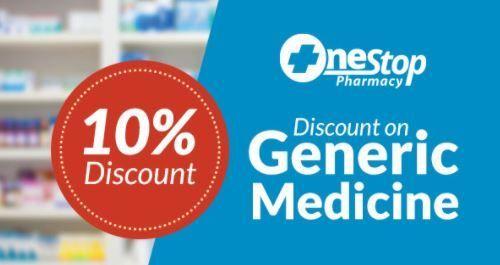 10% off on Pharmacy!
