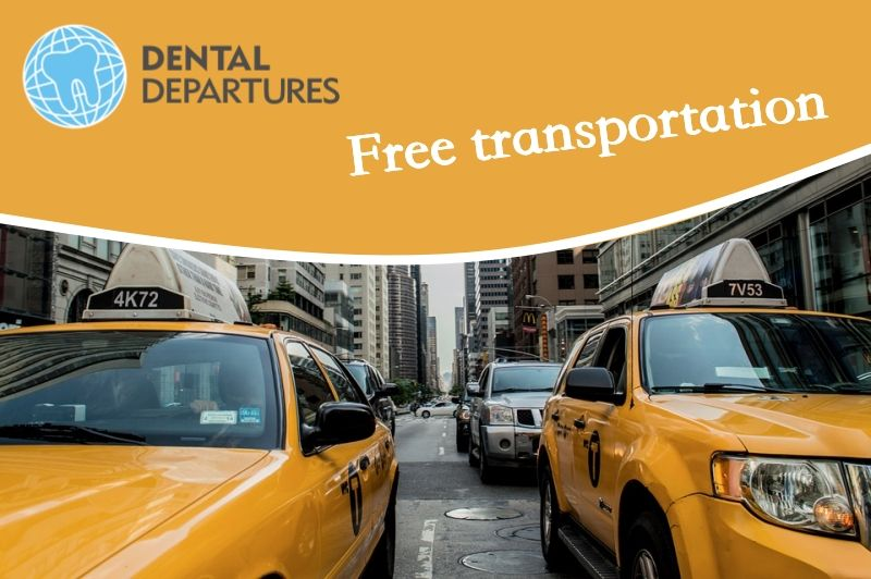 Free transportation - Bali 911 Dental Clinic - Denpasar