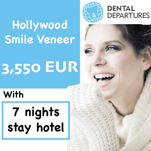 Hollywood Smile Veneer Package