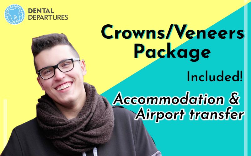 Special price for Crown or Veneers Package!