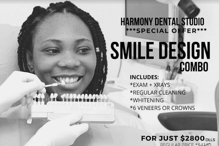 SMILE DESIGN COMBO - Harmony Dental Studio